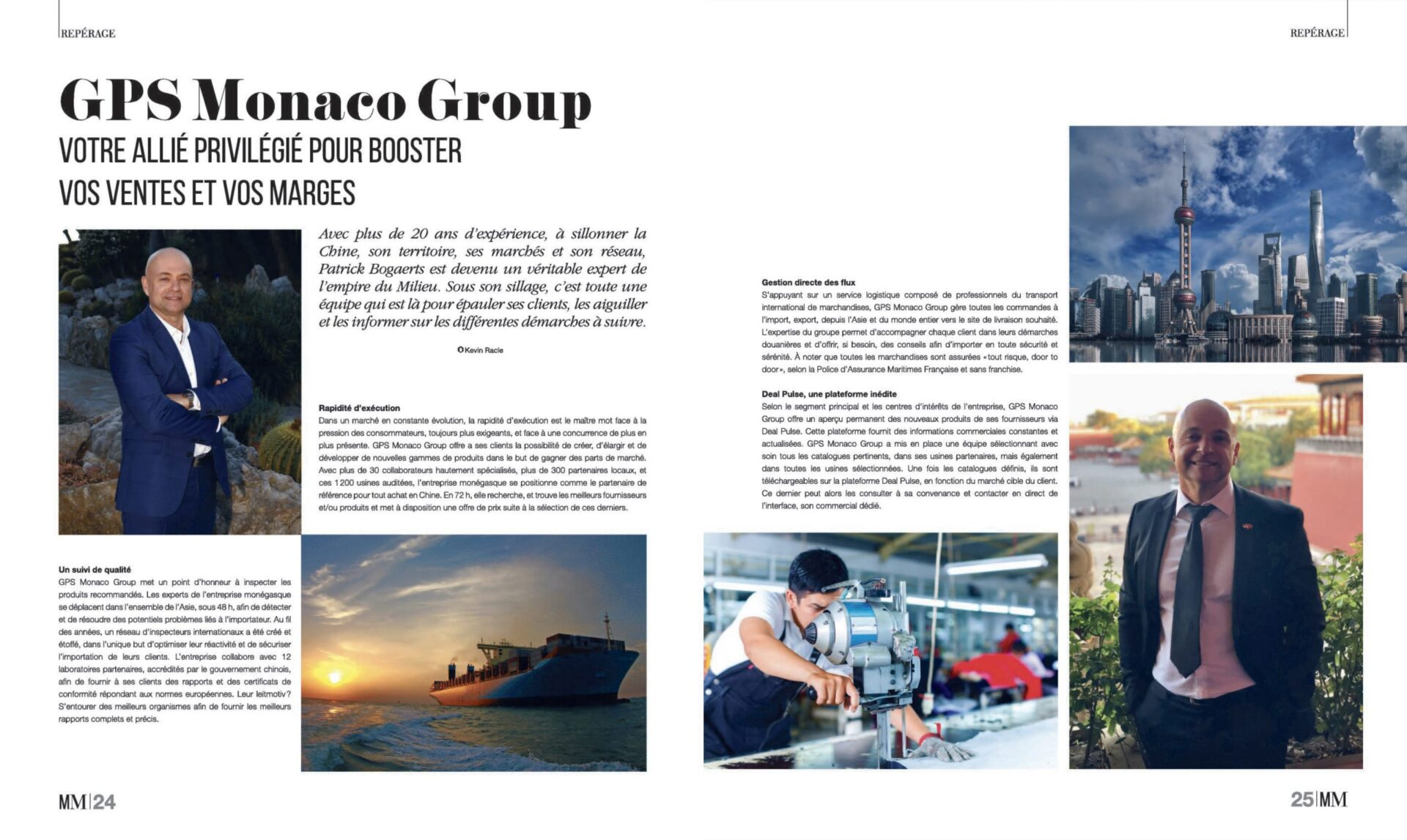 Parution magazine Monaco Monsieur -Mai 2020